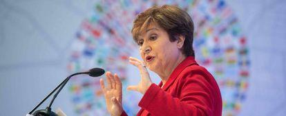 La directora gerente del FMI, Kristalina Georgieva.