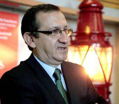 El presidente de la asociación de Técnicos del Ministerio de Hacienda (GESTHA), Carlos Cruzado. EFE/Archivo