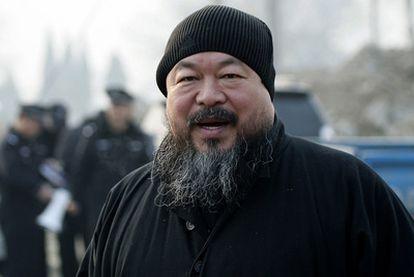 Ai Weiwei, en diciembre de 2010 en Pekín.