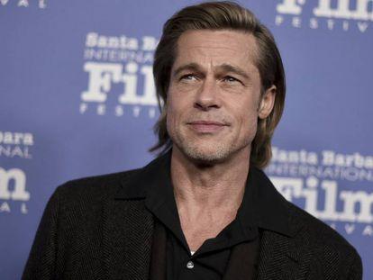 Brad Pitt en los premios Maltin Modern Master Award, en Santa Bárbara, el miércoles.