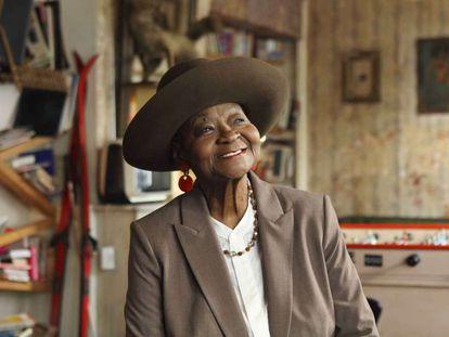 Retrato de Calypso Rose, en 2019.