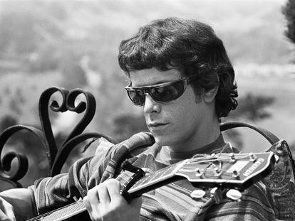 Lou Reed, en los años sesenta, cuando formaba parte de The Velvet Underground.