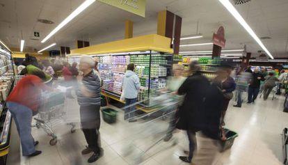 Un supermercado de Mercadona