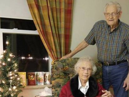 Herbert y Audrey Goodine, de 91 y 89 años.