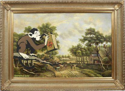 'Monkey Poison' de Banksy