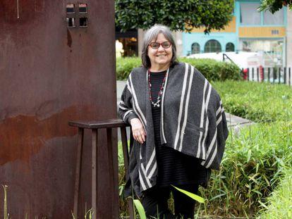 La escritora chilena Diamela Eltit.