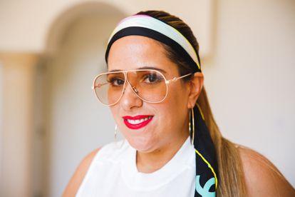 La estilista Norma Castro.