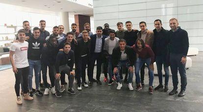 Jugadores del Reus.