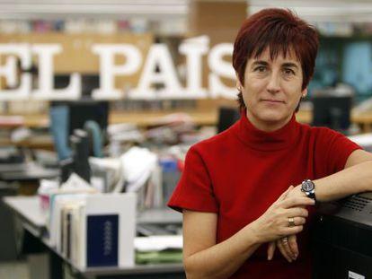 Ángeles Espinosa durante el último encuentro digital en EL PAÍS.