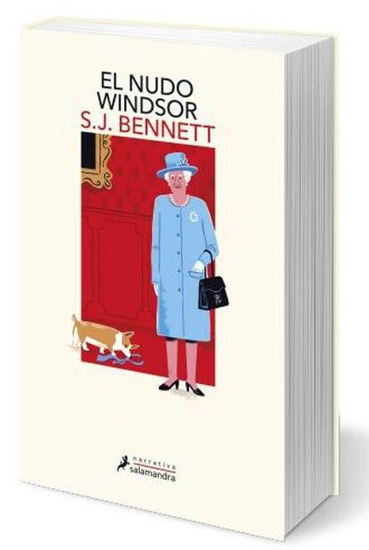 Portada del libro 'El nudo Windsor', de la editorial Salamandra.