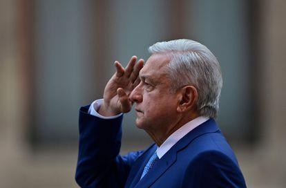 El presidente de México, Andrés Manuel López Obrador, el 30 de marzo.