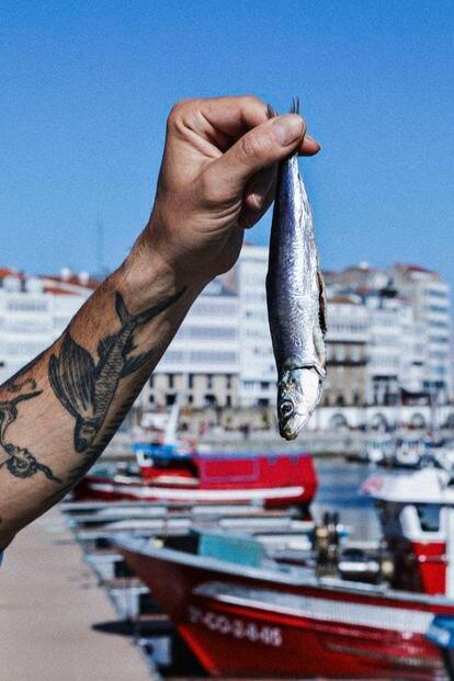 Reportaje con el chef Iván Domínguez en su restaurante NaDo en A Coruña