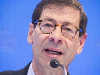 El economista jefe del Fondo Monetario Internacional (FMI), Maurice Obstfeld, este martes Washington.