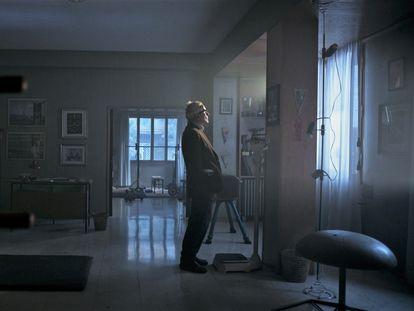 Marco Bellocchio, en una imagen de su película 'Marx può aspettare'.
