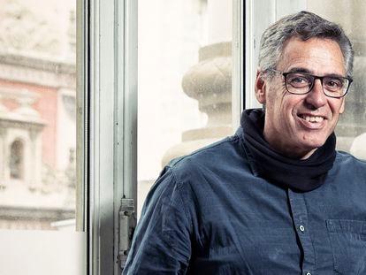 Jordi Galcerán, en el teatro Cofidis de Madrid a principios de marzo de 2020.
