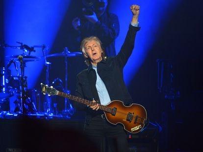 Paul McCartney, en un concierto en Londres en diciembre de 2018.