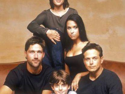Cuatro de los protagonistas de la serie.