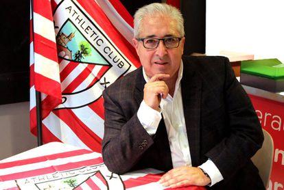 Alberto Uribe-Echevarria, candidato a la presidente del Athletic.