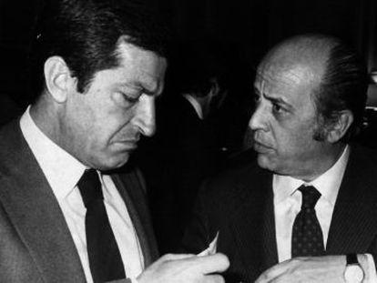 Fernández Ordóñez, ministro de Hacienda con Adolfo Suárez.