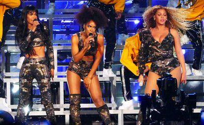 La actuación de Destiny's Child en Coachella.