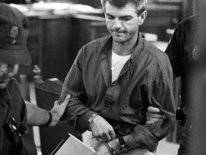 Miquel Ricart, uno de los acusados, durante el juicio de 1997.