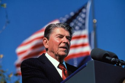 El 40º presidente de los Estados Unidos, Ronald Reagan.