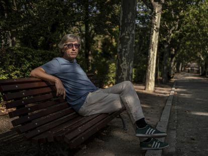 David Trueba, el pasado miércoles en Madrid.