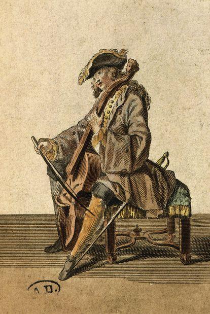 <b>Grabado de</b><i> </i><b>1715</b> (The Art Archive Bibliothèque des Arts Décoratifs).