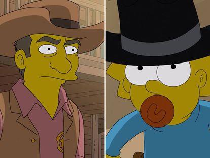 Homenaje a 'Gunsmoke' en el capítulo del récord de 'Los Simpson' de este fin de semana.