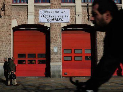 Parque de bomberos nº1 de Madrid.