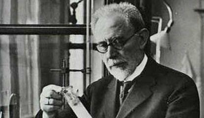 Químico danés Søren Peter Lauritz Sørensen (1868-1939).