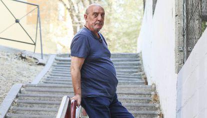 Dionisio Rodríguez, el Dioni, esta semana en Madrid.