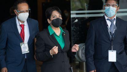 Eunice Monzón García, diputada del Partido Verde Ecologista de México (PVEM), el pasado 20 de agosto en el Congreso.