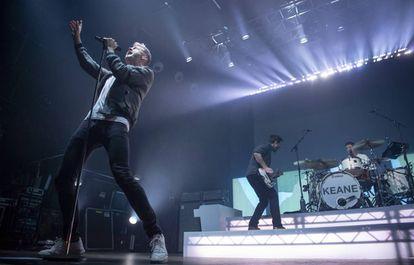 Concierto de Keane en Barcelona, donde actuaron la semana pasada.