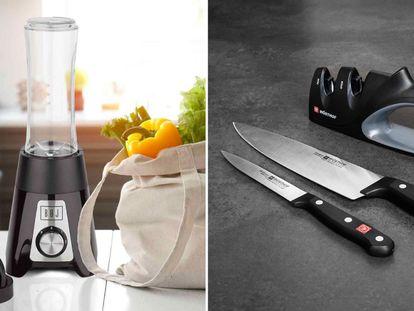 Comienza el verano ahorrando en uno de los elementos más importantes de la cocina: el menaje. Cuchillos, sartenes, cafeteras... todas productos de grandes marcas.