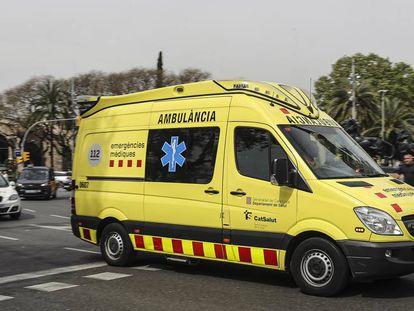 Una ambulancia del Sistema de Emergencias Médicas (SEM).