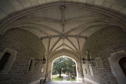 Universidad de Princeton, en Nueva Jersey.