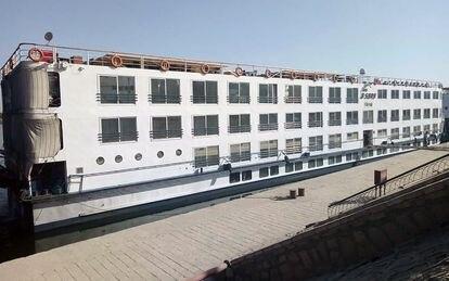 Un crucero en el Nilo cerca de Luxor.