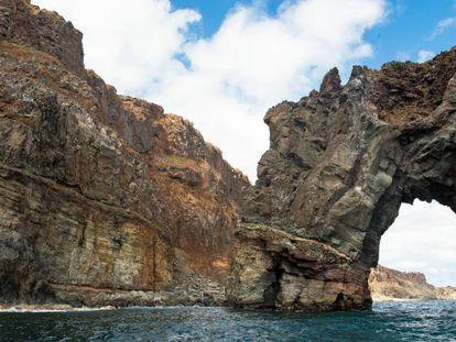 Isla Socorro del Archipiélago de Revillagigedo.