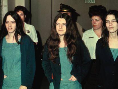 Susan Atkins, Patricia Krenwinkel y Linda Kasabian.