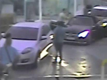 El vídeo que captó la agresión.