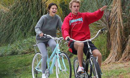 Selena Gómez y Justin Bieber el pasado noviembre.