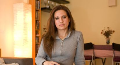 Mónica Limones, en su vivienda en cesión de uso, régimen para el que pide mejor tratamiento fiscal /ISABEL MARQUÉS