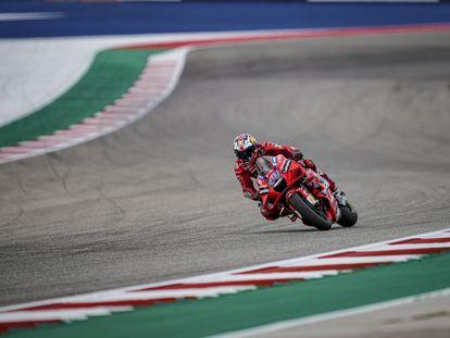 Jack Miller (Ducati), en el Circuito de las Américas.
