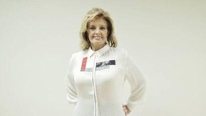 La presentadora María Teresa Campos.