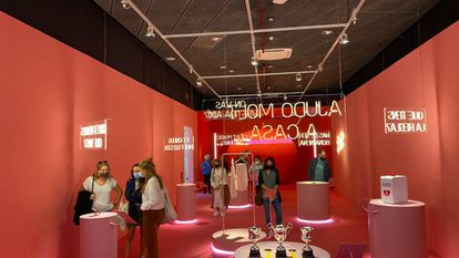 L'exposició 'Feminista havies de ser' al Palau Robert de Barcelona.
