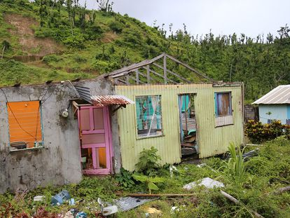 Dominica después del huracán María