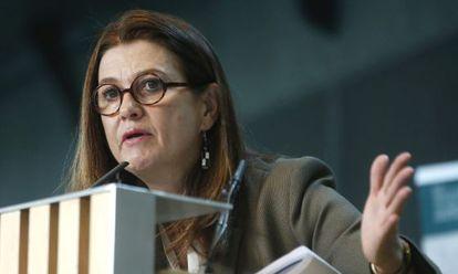 La presidenta del Círculo de Empresarios, Mónica de Oriol.