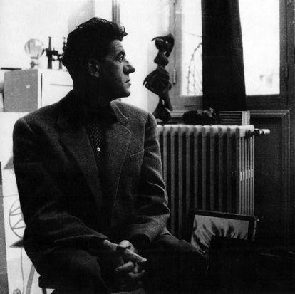 Óscar Domínguez, pintor surreralista canario, en una imagen sin datar.