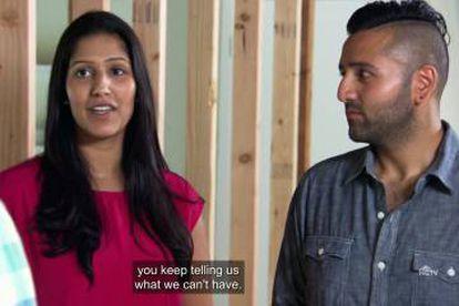 """""""No paras de decirnos todo lo que no podemos hacer"""", reprende este matrimonio a los hermanos Scott en el programa 'La casa de mis sueños'."""